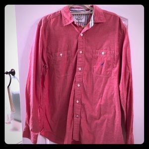 Nautica Long sleeve Button Up